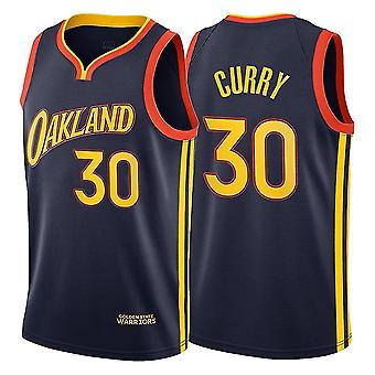 Stephen Curry Golden State Warriors #30 Mens Royal Blue Road Icon Edition Swingman