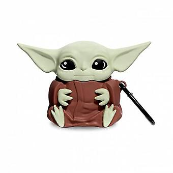 Airpods Case Cover Baby Yoda UK, Airpods 1 Or 2, Cute Protective Airpod Case