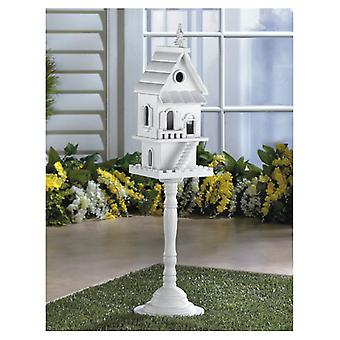 Songbird Valley Victorian Two-Story Pedestal Bird House, Pack of 1