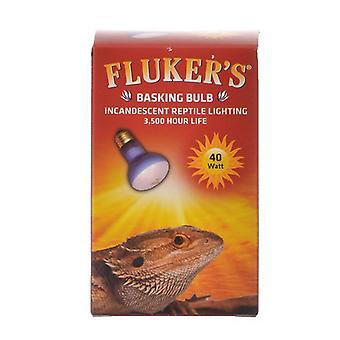 Flukers Incandescent Basking Bulb - 40 Watt