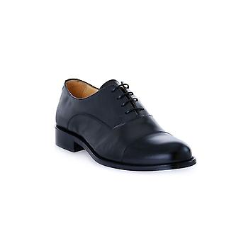 Exton black calfskin shoes