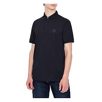 Armani Exchange A x Mens Smart Poloshirt Navy