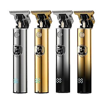 Hair clippers trimmers lcd hair clippers professional hair cutting machine hair beard trimmer for men barber electric
