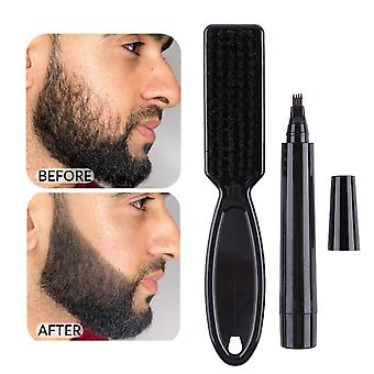 Men Beard Growth Pen Facial Hair Moustache Repair Shape Regrowth Pen Beard Enhancer Nourish Shaping Anti Hair Loss Styling Kit