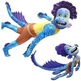 Luca Alberto Seeungeheuer Halloween Cosplay Kostüm Kinder Party Kostüm