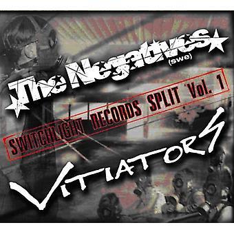 Negatives/Vitiators - Negatives/Vitiators: Vol. 1-Switchlight Records Split USA import