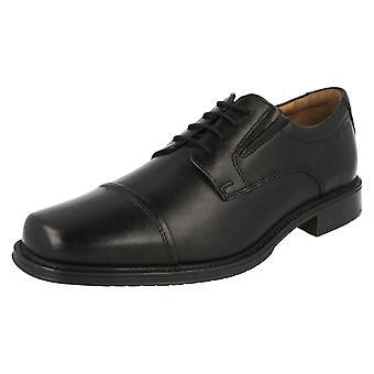 Mens Clarks Lace Up Shoes Driggs Cap