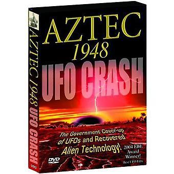 Importer des Aztèques 1948 USA Ufo Crash [DVD]
