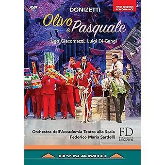 Donizetti: Olivo E Pasquale [DVD] USA import