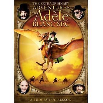 Ekstraordinære opplevelser av Adele Blanc-Sec [DVD] USA importere