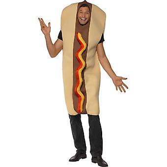 Hotdog Kostüm Sosis Hot Dog Snack Kostüm Büyük