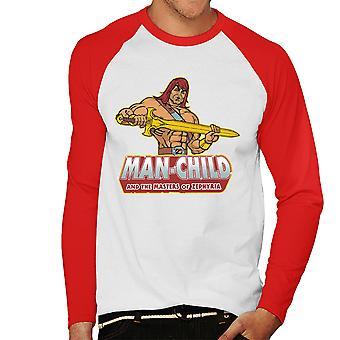 Man kind zoon van Zorn mannen honkbal lange mouwen T-Shirt