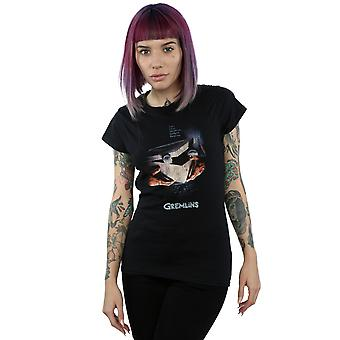 Gremlins vrouwen Gizmo verdrietig Poster T-Shirt
