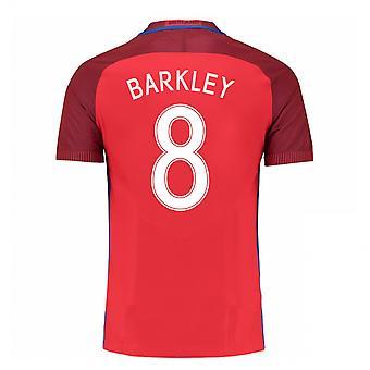 2016-17 Engeland weg Shirt (Barkley 8) - Kids