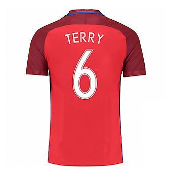 2016-17 Engeland weg Shirt (Terry 6) - Kids