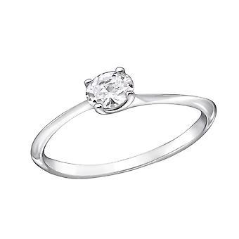 Oval - 925 Sterling Silver inele cu bijuterii - W29234x