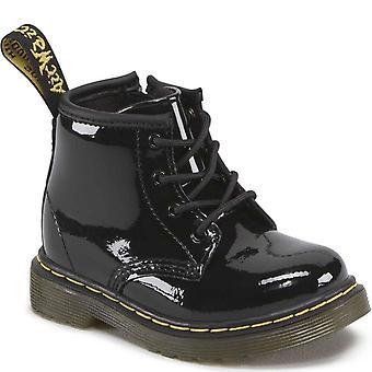 Dr. Martens Brooklee B Infant Girls Black Zip Boots