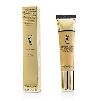 Yves Saint Laurent Touche Eclat All In One Glow Foundation Spf 23 - # Bd50 Warm Honey - 30ml/1oz