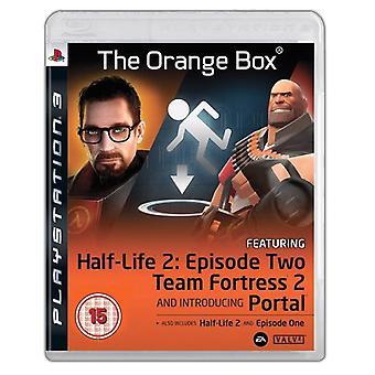 Half-Life 2 de Orange Box (PS3)-nieuw