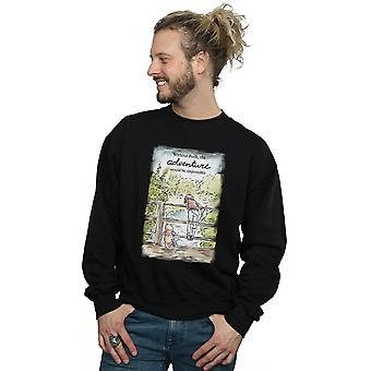 Disney Men's Winnie The Pooh Adventure Sweatshirt