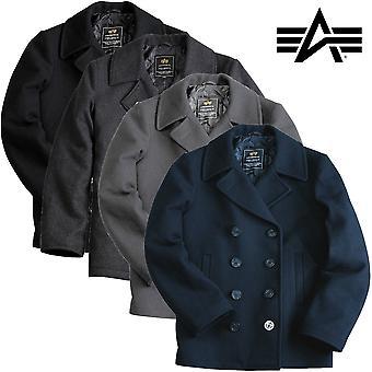Alpha industries coat pea coat USN