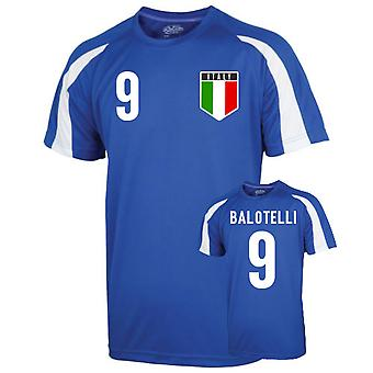Italie Entraînement sportif Jersey (Balotelli 9)
