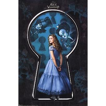 Alice in Wonderland c2010 - Alice Poster Print