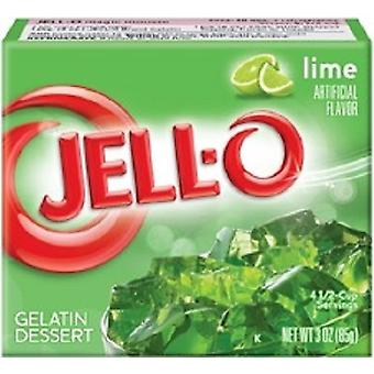Jell-O Lime Instant Jello gelatine Mix