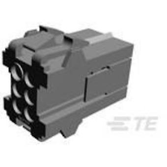 TE Connectivity Socket kotelo - kaapeli Metrimate määrä nastat 6 yhteystiedot välistys: 5 mm 207153-1 1 PCs()