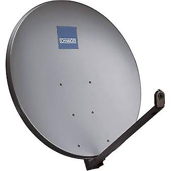 Schwaiger SPI1000.1 SAT antenna 97 cm Reflective material: Aluminium Anthracite