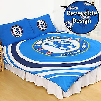 Chelsea FC Reversible Pulse Duvet Set