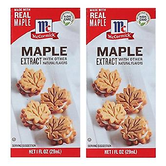 McCormick Maple Extract 2 fles Pack