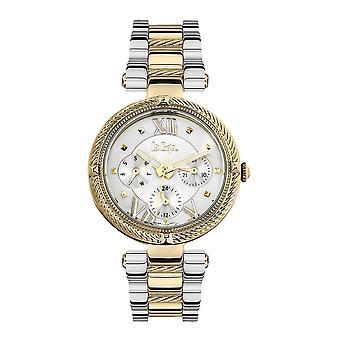 Orologio da donna Lee Cooper e Bracciale d'argento e metallo d'oro 7880