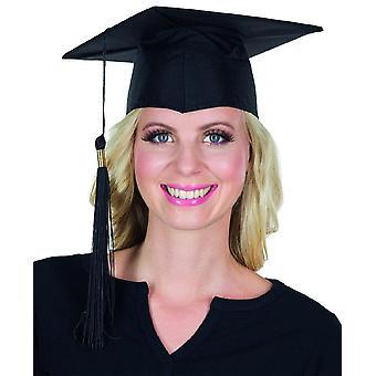 Doktorhut schwarz Quaste Unihut Abschlussfeier Accessoire