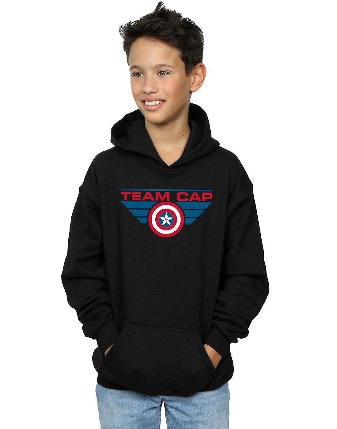Marvel Boys Captain America Civil War Team Cap Hoodie