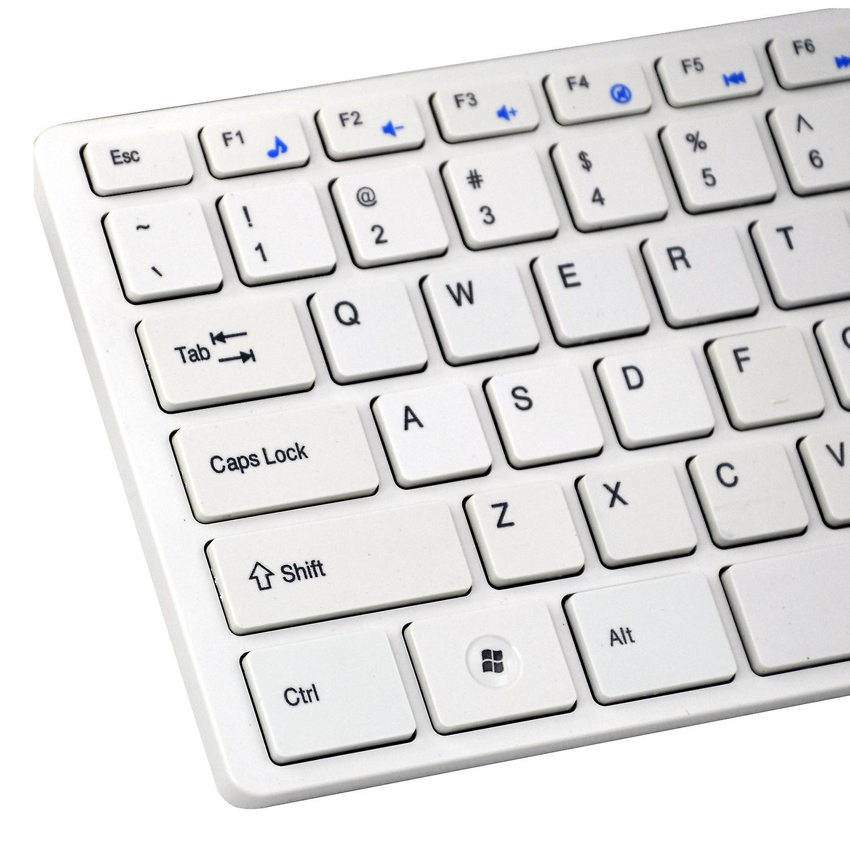 مساحة ضئيلة تريكسيس تعيين لوحة المفاتيح اللاسلكية الرمادية & الفأرة البصرية اللاسلكية للكمبيوتر المحمول