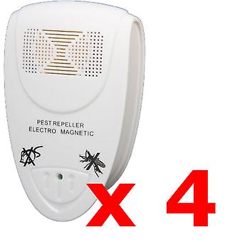 4 x Kabalo UK PLUG IN ULTRASONIC PEST REPELLERS