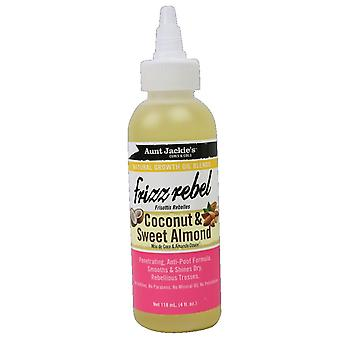 Aunt Jackie's Frizz Rebel, Coconut & Sweet Almond Natural Growth Oil 118ml