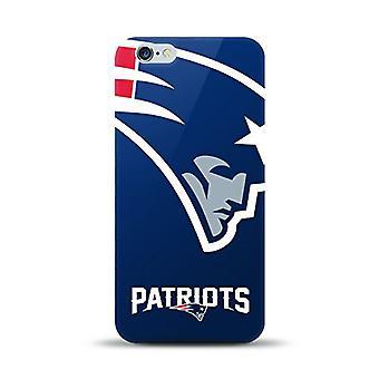 Mizco الرياضة NFL المتضخم Snapback TPU القضية لأبل اي فون 6 زائد / 6S زائد (نيو انغلاند الوطنيين)