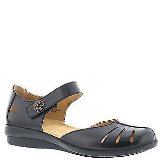 Taulukko naisten Antigua nahka suljettu rento nilkka hihna sandaalit