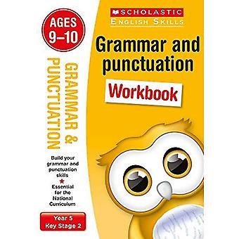 Grammatica e punteggiatura anno 5 cartella di lavoro (conoscenza scolastica della lingua inglese)