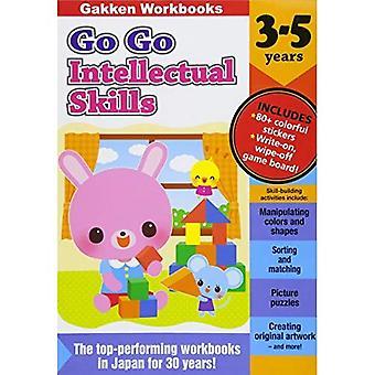 Go Go älyllisten taitojen 3-5 (Gakkenworkbooks)