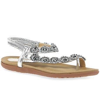 Filles de Charlotte lunaire orteil Post sandales