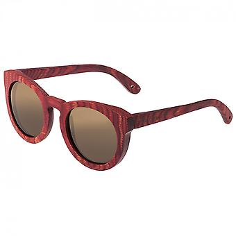 Spectrum Aikau Wood Polarized Sunglasses - Cherry/Brown