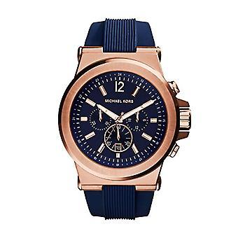 Michael Kors MK8295-silicone wristwatch color blue