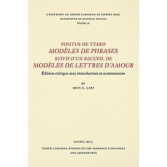 Pontus De Gestaltungselemente Modeles De Phrasen Suivis d ' un Recueil De Modeles De