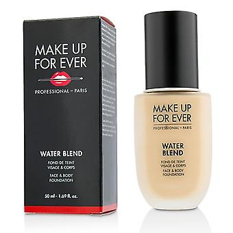 Make Up For Ever Water Blend Face & Body Foundation - # R250 (beige Nude) - 50ml/1.69oz