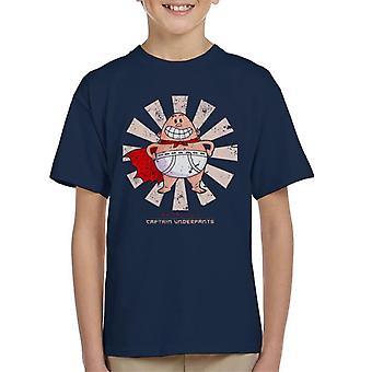Kapten kalsonger retro japanska Kid ' s T-shirt