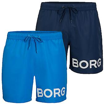 Bjorn Borg Mens Sheldon Shorts de natation