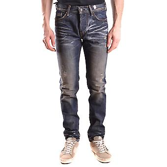 0/zero Construction Ezbc391001 Men's Blue Denim Jeans